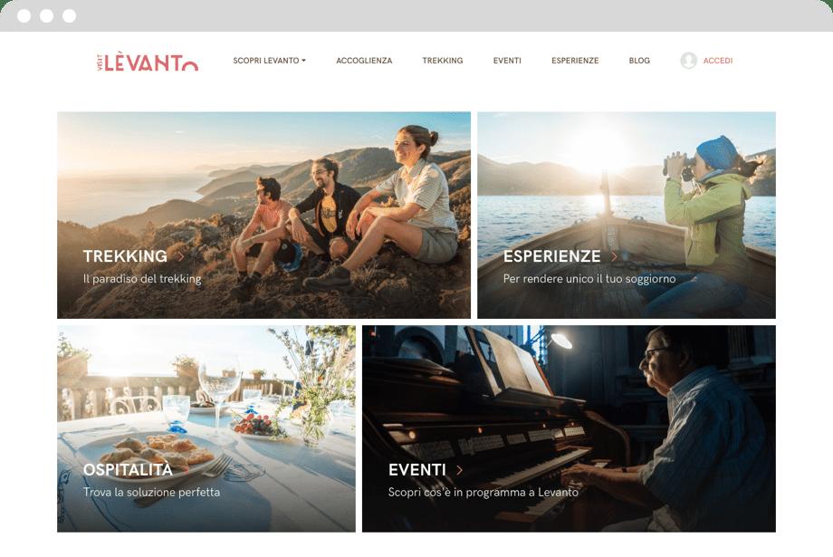 Desktop visit levanto case Marketing Arena