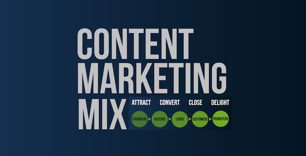 content marketing mix