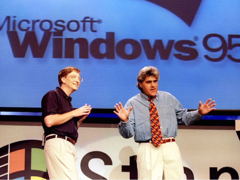 Jay Leno Windows 95